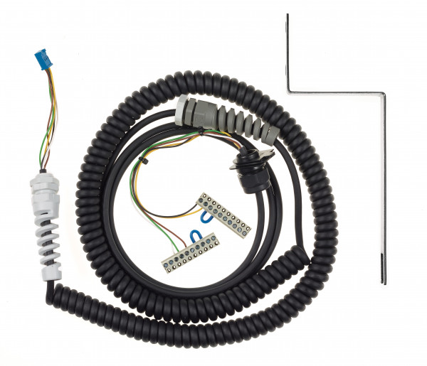 Spiralkabel 5x0,25mm² - 5m/5m TBAD