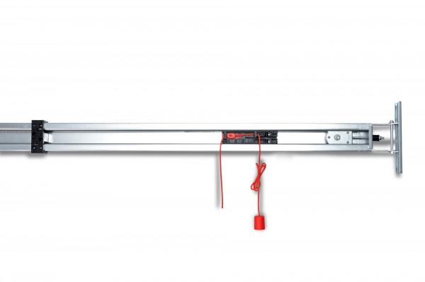 Antriebsschiene zweiteilig 0,8 mm Profilstärke