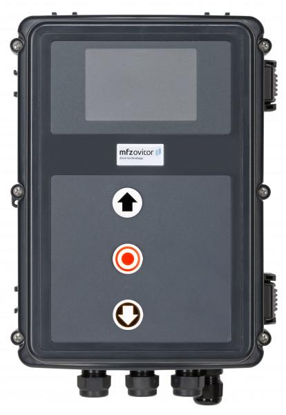 Steuerung CS320 mit leuchtenden Tastern