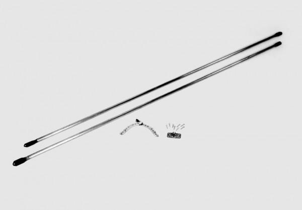 Flügeltorbeschlag für Garagen mit Flügeltor