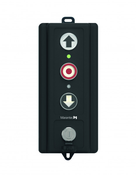 Drucktaster CS-I 15 inkl. Schlüsselschalter + 7 m Kabel