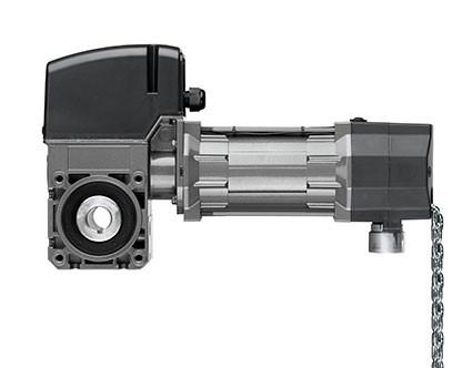 Antriebspaket STA 1-10-24 E/KE mit Wartungsentriegelung, zwei Anschlussdosen und Steuerung