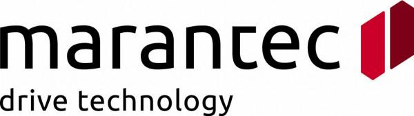 Fahrzeugaufkleber Marantec Logo für Heckscheibe