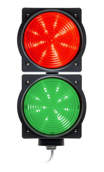 Ampel LED 24 V rot und grün