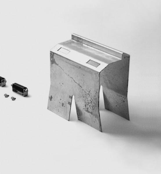 Special 408 Auflaufbock für Elektroschloss (2-flügelig)