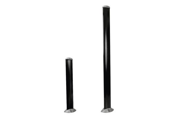 Lichtschrankensäulen Aluminium 50 cm oder 100 cm