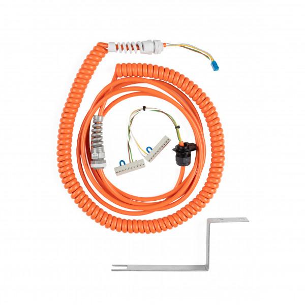 Spiralkabel 5x0,5 mm² - 5,0m für TBAD